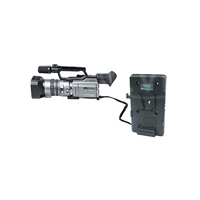 CoreSWX GP-S/12 (GPS12) V-Type Plate with PowerTap 12v output with belt clip
