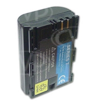 CoreSWX SL-E6 (SLE6) 7.4V, 1800mAh Lithium Ion battery pack for Canon 5D/7D, communicates charge to camera and charges on LC-E6