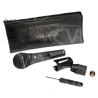 Rode M1-S (RODEM1S) Handheld Live Performance Dynamic Cardioid Microphone with lockable switch