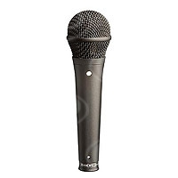 Rode S1-B (RODES1-B) Handheld Live & Studio Condenser Microphone with super-cardioid polar response, supplied with pouch & M1 stand mount (Black Finish)