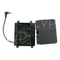 TV Logic (BB-056AA) Battery Bracket to allow 6-AA batteries to power the VFM-056W/WP monitor