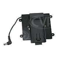 TV Logic BB-056S (BB056S) Battery Bracket to allow Sony NP-F type batteries to power the VFM-056W/WP monitor