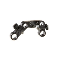 Litepanels 15mm Film/Video Rod Mounting Bracket for Ringlite Mini, Film, Video, DSLR, HDSLR Cameras (p/n 900-4011)