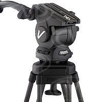 Vinten V4046-0001 (V40460001) Vision 10AS Head (100mm Ball base) with 1 telescopic pan bar, camera plate & bowl clamp