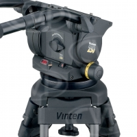 Vinten VB250-CP2M (VB250CP2M) Vision 250 (3465-3S) Dual Telescopic Pan Bars (3219-91), Two-Stage CF Pozi-Loc Tripod (3881-3), Spread-Loc mid-level spreader (3781) and Soft Case (3341)