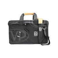 Portabrace LB-1B (LB1B) Lens Bag for carrying large lenses and matte boxes (internal dimensions: 33.02 x 17.78 x 17.78 cm) (black)