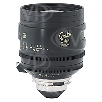 Cooke Optics S4/i 14mm T2 35mm/Super 35mm Prime Lens with Arriflex PL Mount