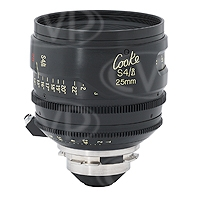 Cooke Optics S4/i 25mm T2 35mm/Super 35mm Prime Lens with Arriflex PL Mount
