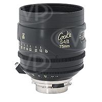 Cooke Optics S4/i 75mm T2 35mm/Super 35mm Prime Lens with Arriflex PL Mount