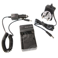 Powerlok Multi Fit Charger for NP-FM Series, NP-QM Series and NP-F Series type batteries