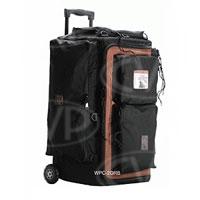 PortaBrace WPC-2ORB (WPC2ORB) Wheeled Production Case w/Off Road Wheels (internal dimensions:59.69 x 30.48 x 29.21 cm) (black)