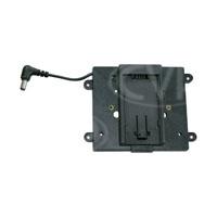 TVLogic BB-056B (BB056B) Battery Bracket to allow Panasonic AF-101 batteries & similar to power the VFM-056W/WP