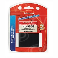 Hahnel HL-970G (HL970G) Battery for Canon BP-950, BP-950G, BP-970 + BP-970G camcorders (replacement for HL-975)