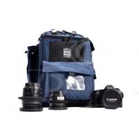 Portabrace BC-1N (BC1N) HDSLR Backpack Camera Case for Canon 5D Mark III, Nikon D1 and Sony Alpha a33 Cameras - Blue (Internal Dimensions: W: 38.1 cm x D: 13.3 cm x H: 25.4 cm)