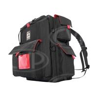 Portabrace BC-1NR (BC1NR) HDSLR Backpack Camera Case for Canon 5D Mark III, Nikon D1 and Sony Alpha a33 Cameras - Black (Internal Dimensions: W: 38.1 cm x D: 13.3 cm x H: 25.4 cm)