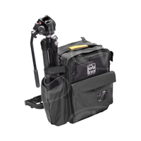Portabrace BC-2NR (BC2NR) HDSLR Backpack Camera Case for Canon 5D Mark III, Nikon D1 and Sony Alpha a33 Cameras - Black (Internal Dimensions: W: 30.4 cm x D: 20.3 cm x H: 45.0 cm)