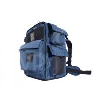 Portabrace BK-2N (BK2N) HDSLR Backpack Camera Case for Canon XF300, XF305 and Sony PMW-F3 Cameras - Blue (Internal Dimensions: W: 30.4 cm x D: 20.3 cm x H: 45.0 cm)