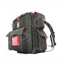 Portabrace BK-1NR (BK1NR) Backpack (lightweight) for compact camera set-ups (internal dimensions: 38.10 x 13.34 x 25.40 cm) (black)