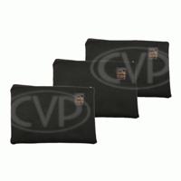 Portabrace CC-ACC812 (CCACC812) Interior Accessory Pouch Set for Pro Makeup Air Brush Bag (Set of 3)