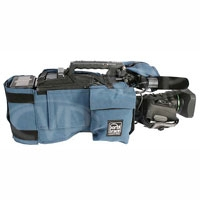 Portabrace CBA-HPX2000 (HPX2000) Camera Body Armour with reversible rain / dust top for Panasonic AJ-HPX and AJ-SPX series (blue)