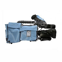 Portabrace CBA-HPX300 (CBAHPX300) Camera Body Armour with reversible Rain/Dust Top for Panasonic AG-HPX300 / AG-HPX301 (blue)