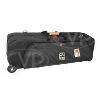 Portabrace WRB-3ORB (WRB3ORB) Wheeled Run Bag for Heavy Studio, Audio, Video and Film Equipment - Black (Internal Dimensions: W: 104.1 cm x D: 30.4 cm x H: 27.9 cm)