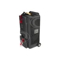 Portabrace WPC-1ORB (WPC1ORB) Wheeled Production Case for Heavy Studio, Audio, Video and Film Equipment - Black (Internal Dimensions: W: 52.0 cm x D: 26.6 cm x H: 17.7 cm)