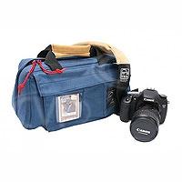 Portabrace CS-DC2U (CSDC2U) DSLR Camera Case for Canon 1D Mark IV, 5D Mark II, 7D etc (internal dimensions: 35.56 x 17.78 x 17.78 cm) (blue)