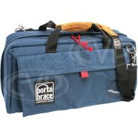 Portabrace CS-DC4U (CSDC4U) Digital Camera Carrying Case - Blue (Internal Dimensions: W: 54.6 cm x D: 20.3 cm x H: 25.4 cm)
