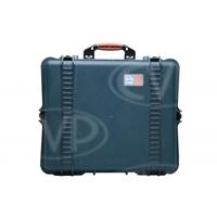 Portabrace PB-2750DKOR (PB2750DKOR) Extra Large Hard Case with Divider Kit and Off Road Wheels - Blue (Internal Dimensions: W: 49.5 cm x D: 40.0 cm x H: 20.3 cm)