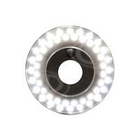Rotolight RL48-B (RL48B) Ringlight Stealth Edition LED Light for HD Cinematography, DSLR Photography and Videography
