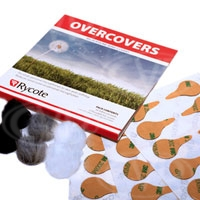 Rycote 065505 Overcover Pack - 30 uses (re-useable fur covers) suitable for Lavalier mics
