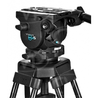 Vinten V4105-0001 (V41050001) Vision blue5 Head - 75mm ball base head with 1 fixed pan bar, camera plate & bowl clamp
