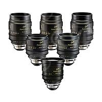 Cooke Optics Mini S4i Set includes 18mm, 25mm, 32mm, 50mm, 75mm, 100mm T2.8 35mm/Super 35mm Prime Lenses with PL Mounts