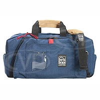 Portabrace RB-1 (RB1) Small Run Bag Lightweight for small chargers, tape stock, batteries, light heads and other gear (internal dimensions: 45.72 x 17.78 x 24.13 cm) (blue)