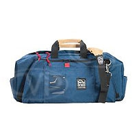 Portabrace RB-2 (RB2) Medium Run Bag Lightweight for tape, battery, charger cable and tools (internal dimensions: 53.34 x 17.78 x 24.13 cm) (blue)