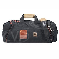 Portabrace RB-2B (RB2B) Medium Run Bag Lightweight for tape, battery, charger cable and tools (internal dimensions: 53.34 x 17.78 x 24.13 cm) (black)