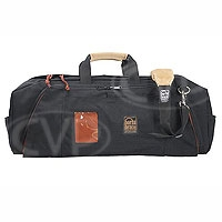 Portabrace RB-3B (RB3B) Lightweight Run Bag (large) for tape, battery, charger cable and tools (internal dimensions: 63.50 x 17.78 x 24.13 cm) (black)