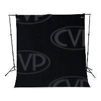 Westcott 133 9ft x 10ft Rich Black Wrinkle Resistant Backdrop (photographic background) (860380)