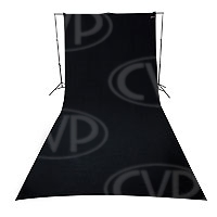 Westcott 138  9ft x 20ft (2.74m x 6.09m) Rich Black Backdrop (photographic background) (860382)