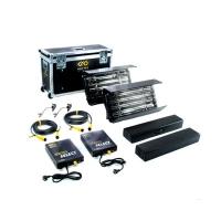 Kino-Flo (KIT-2NT-230U) Interview Select Kit (2-Unit), 230VAC includes 2ft 4Bank Fixture (x2), Ballast (x2), Mount (x2), Extension Cable (x2), Lamp Case (x2) & Interview Ship Case (KIT2NT230U)