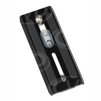 Miller 1204 Camera plate (sliding) for Compass 12/15 Fluid Heads- includes 1/4 + 3/8 inch screws