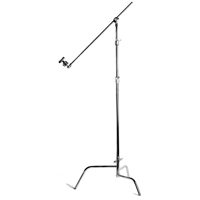 Matthews MD-756140 (MD756140) Hollywood 40 inch Double Riser Turtle Base, with Grip Head and Arm