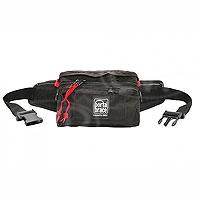 Portabrace HIP-2B (HIP2B) Hip Pack for small format cameras, lens adapters, lens caps, small radio microphones - medium (internal dimensions: 24.13 x 6.35 x 13.97 cm) (black)