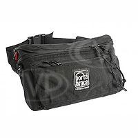 Portabrace HIP-3B (HIP3B) Hip Pack for cameras, lens adapters, lens caps, radio microphones - large (internal dimensions: 27.94 x 8.89 x 15.24 cm) (black)
