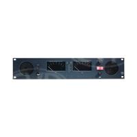 TSL AMU2-2MAS (AMU22MAS) 2RU Audio Monitoring Unit with 6 x Stereo Analogue Inputs, Dual PPM Sifam Meter Displays, Internal Stereo Loudspeakers and Internal PSU