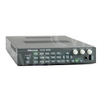 Tektronix WVR5000 HD / SD-SDI waveform Rasteriser with 2 passive loop-through video inputs and 1 x AES