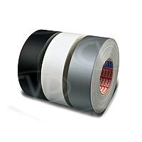 CVP Fabric Backed Self-Adhesive Matte Black Gaffer Tape - 50mm width x 50m length