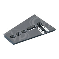Vinten 3391-3 (33913) Short Wedge Plate with Fixing Screws for Vector 75, 750, 750i, 950 and 950i Pan and Tilt Heads