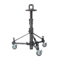 Libec P110B (P-110) Pedestal System includes P110 Column with DL-8 for outside broadcast use